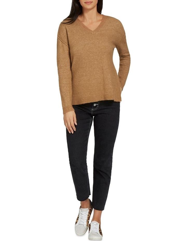 V Neck Plush Sweater image 2