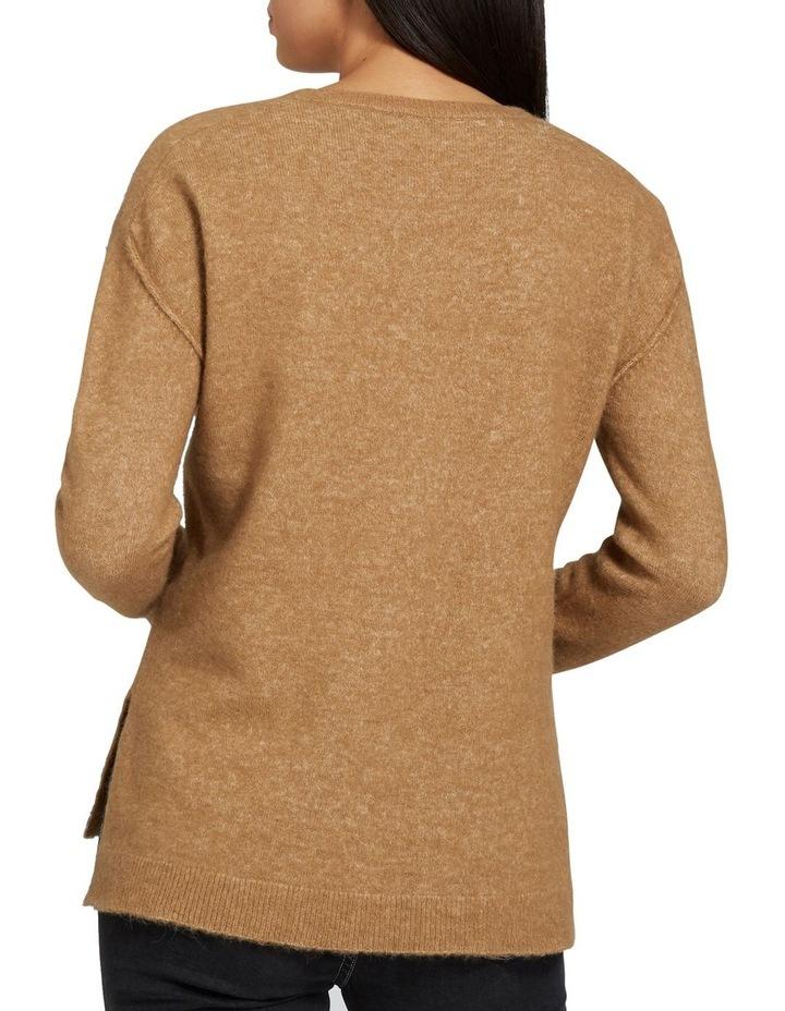 V Neck Plush Sweater image 3
