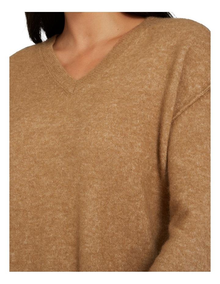 V Neck Plush Sweater image 4