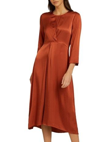 0985ba85a6 Seed Heritage Twist Detail Midi Dress