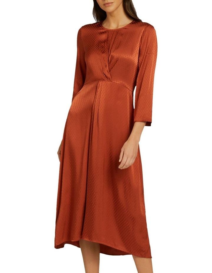 Twist Detail Midi Dress image 1