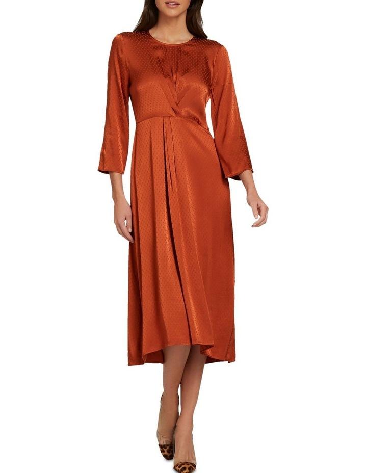 Twist Detail Midi Dress image 2