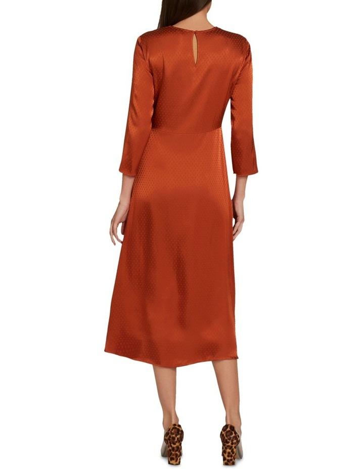 Twist Detail Midi Dress image 3