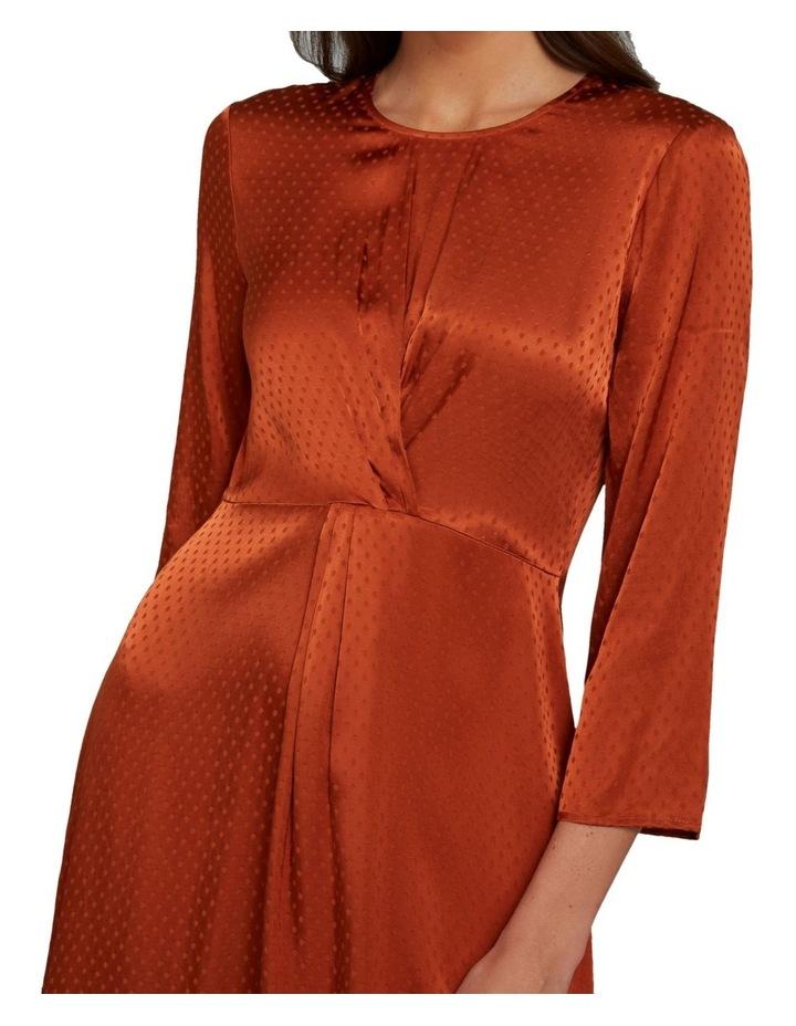 Twist Detail Midi Dress image 4