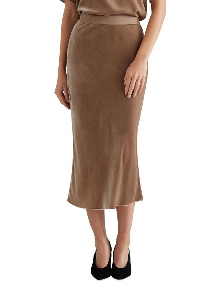 Velvet Slip Skirt image 1
