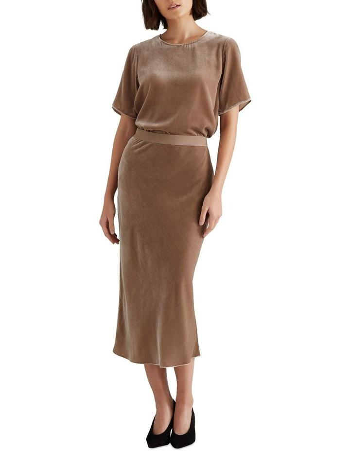 Velvet Slip Skirt image 2