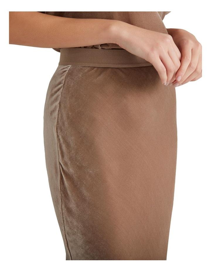 Velvet Slip Skirt image 3