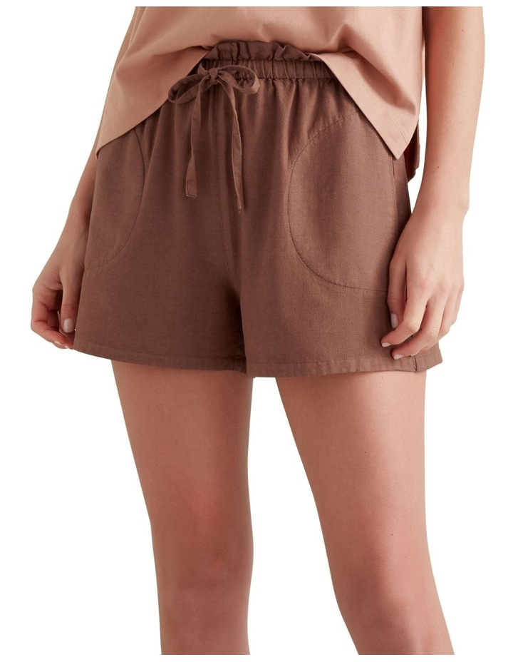 Paper Bag Tie Up Shorts image 1