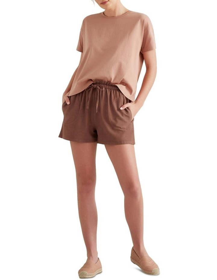 Paper Bag Tie Up Shorts image 2