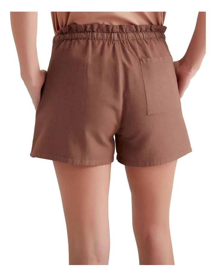 Paper Bag Tie Up Shorts image 3