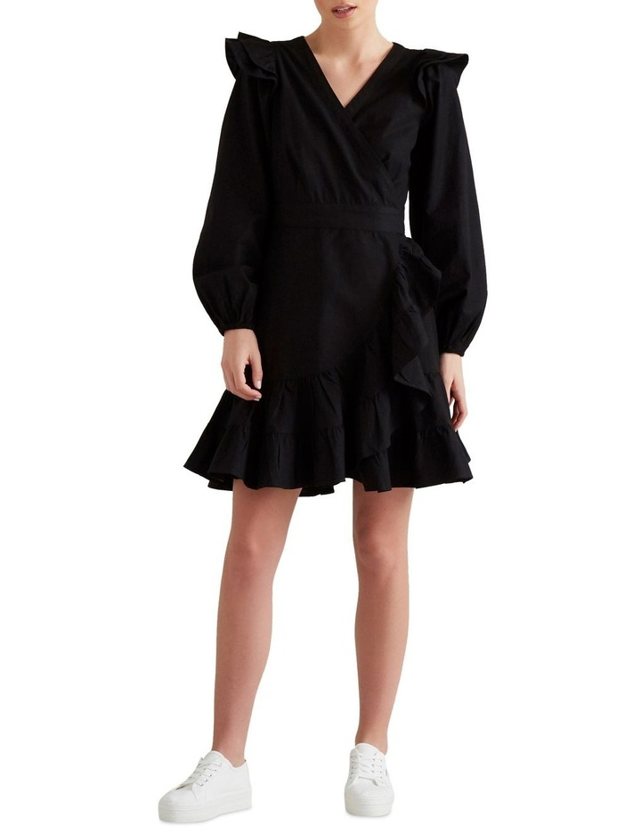 Wrap Front Frill Dress image 2