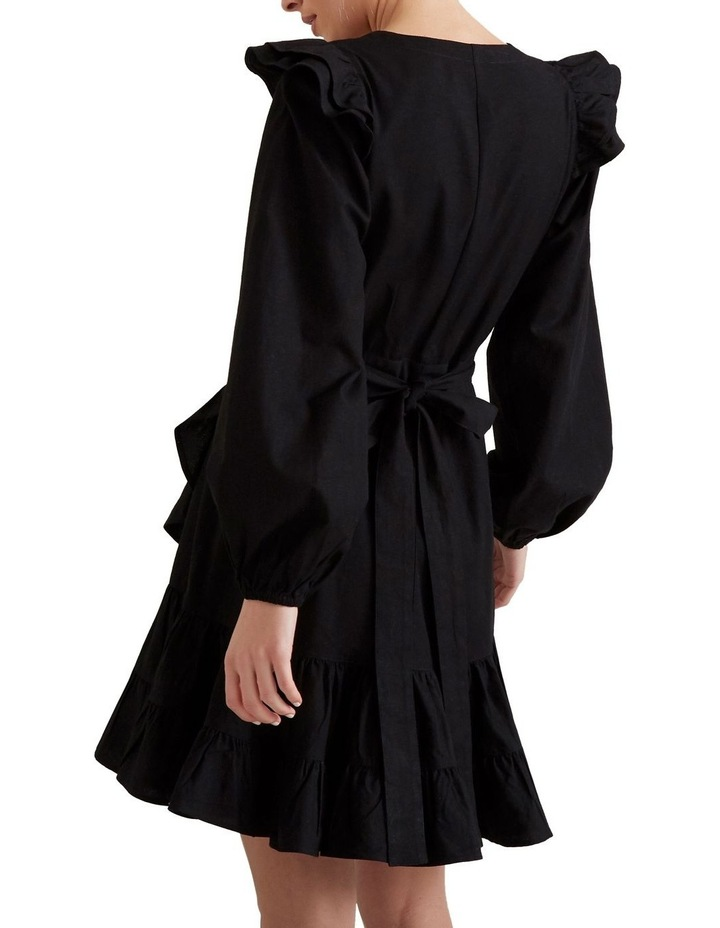 Wrap Front Frill Dress image 3