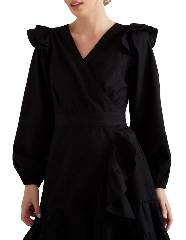 Wrap Front Frill Dress image 4