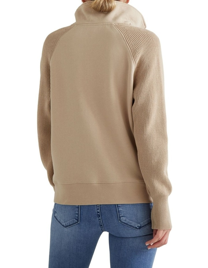 Ribbed Knit Sweater image 3