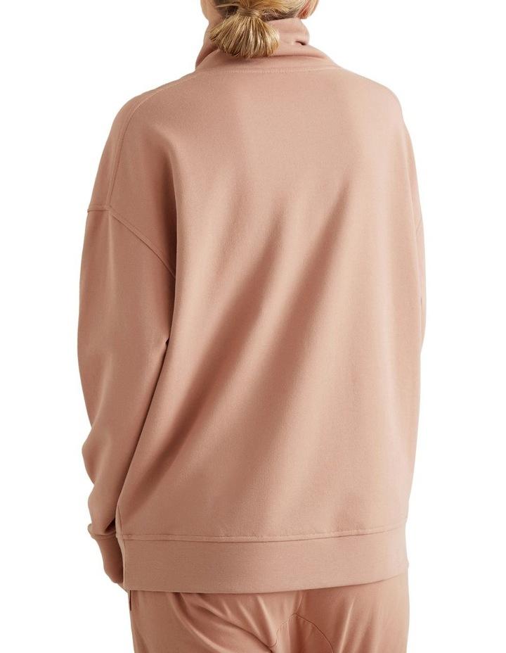 Drop Shoulder Zip Sweater image 3