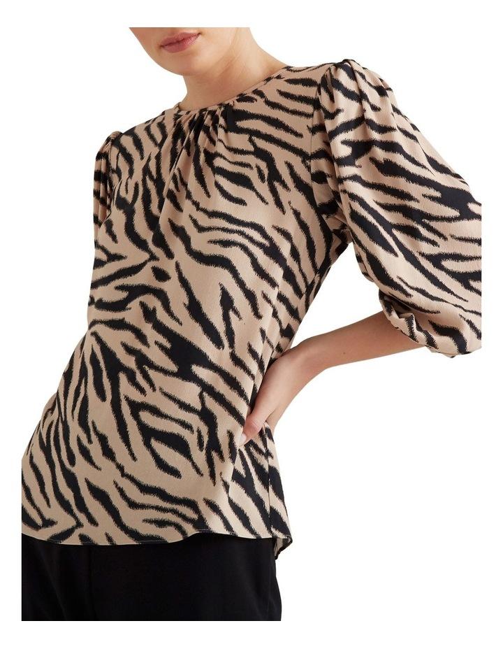 Sketchy Zebra Blouse image 1