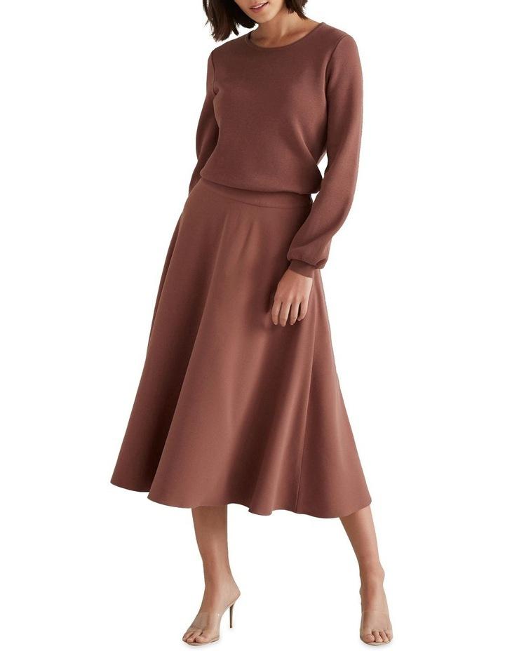Crepe Woven Skirt image 3