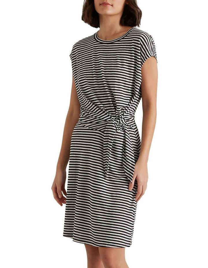 Tie Up Stripe Dress image 1