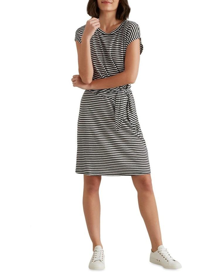 Tie Up Stripe Dress image 4