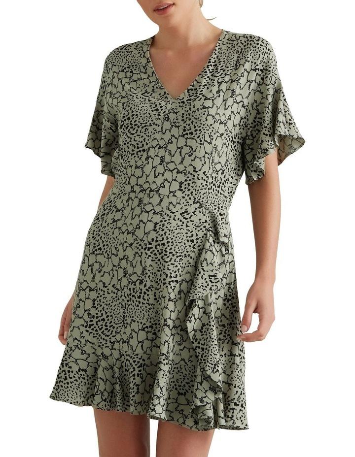 Spliced Animal Pint Dress image 1