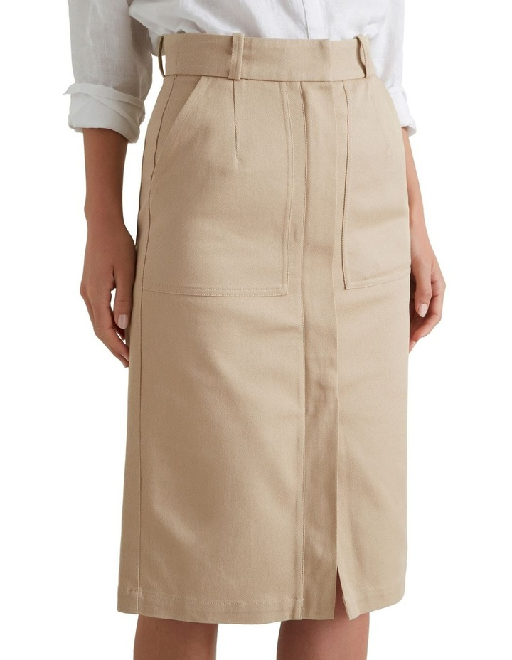 Patch Pocket Midi Skirt image 2