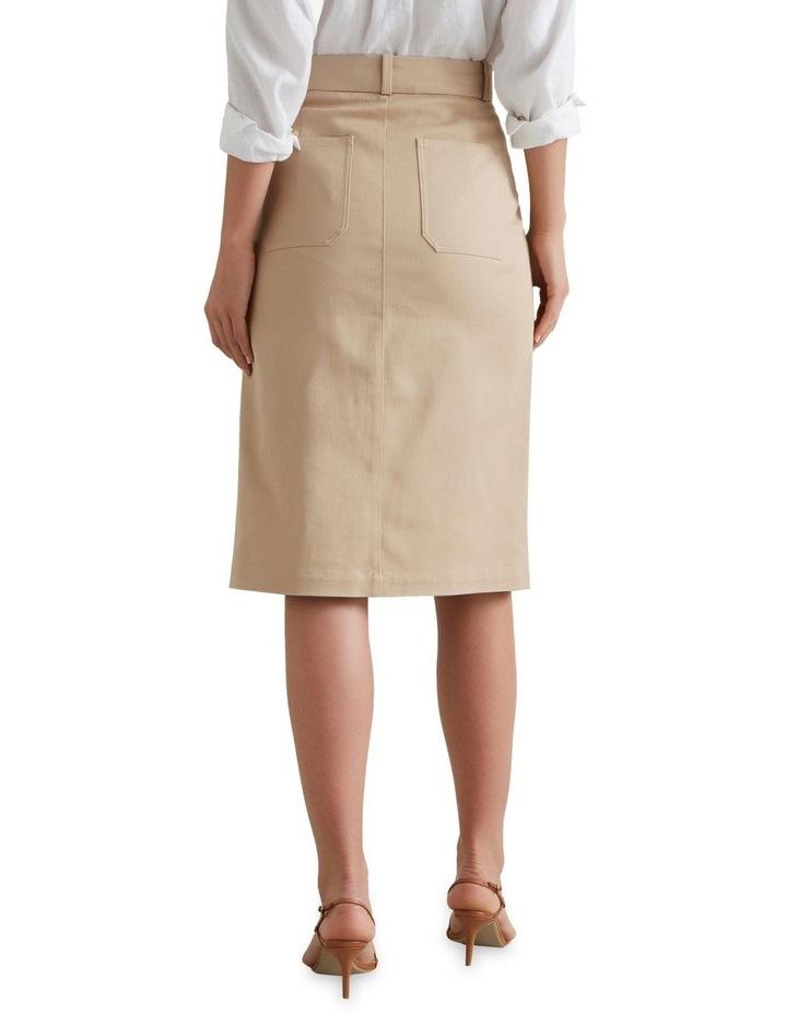 Patch Pocket Midi Skirt image 3