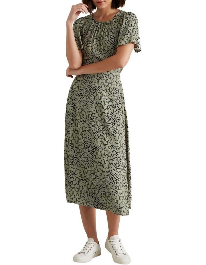 Spliced Animal Print Skirt image 2