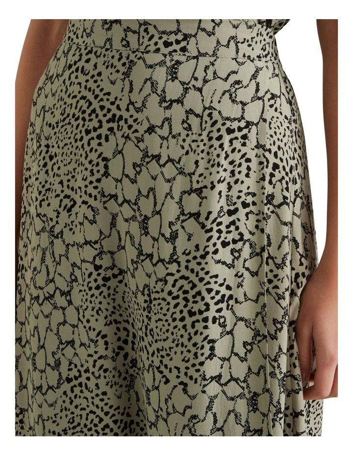 Spliced Animal Print Skirt image 4