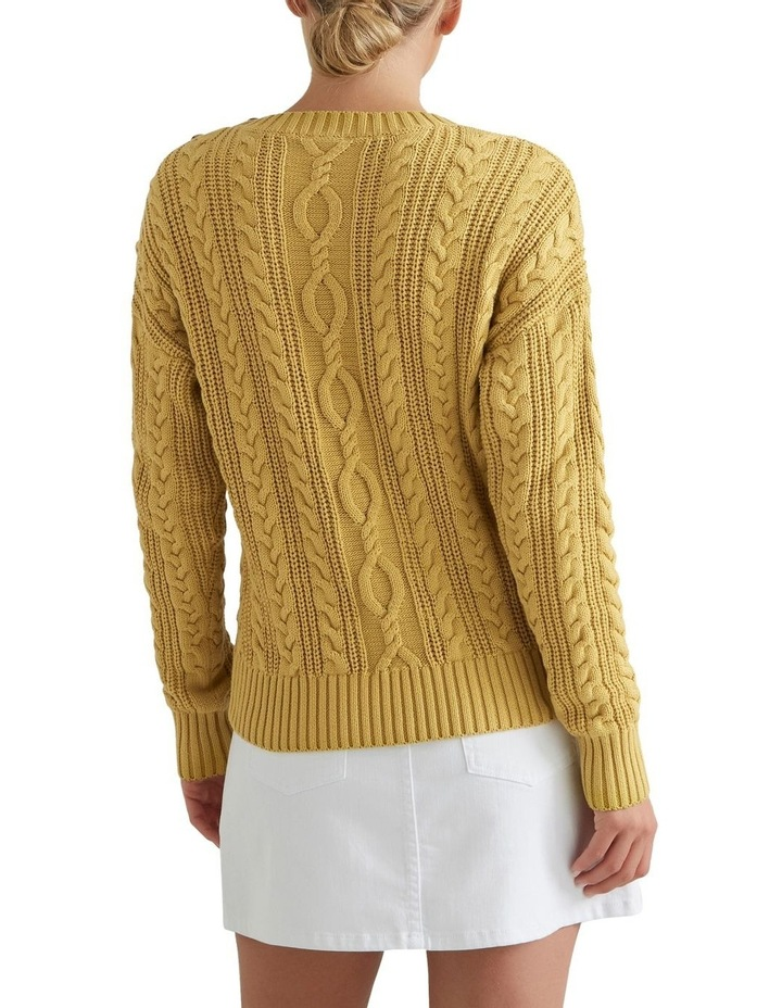 Cable Knit Sweater image 2