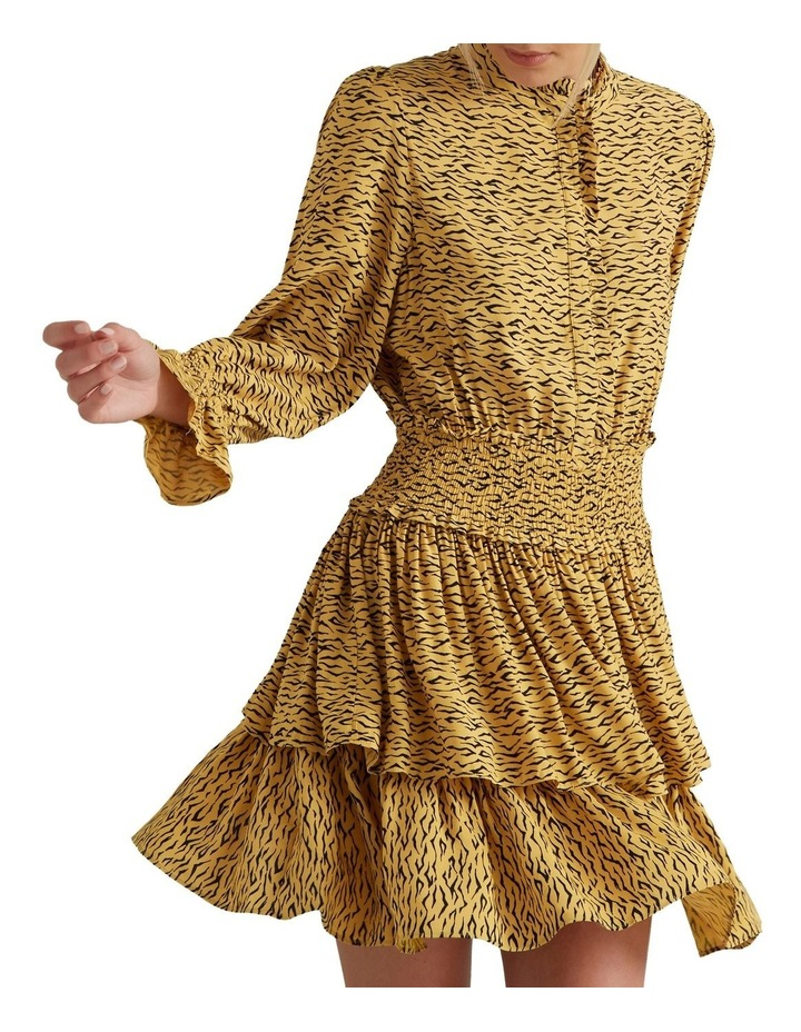 Animal Print Frill Dress image 2