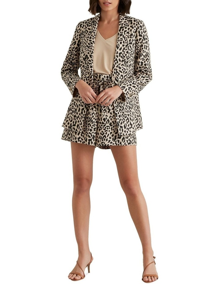 Animal Print Blazer image 2