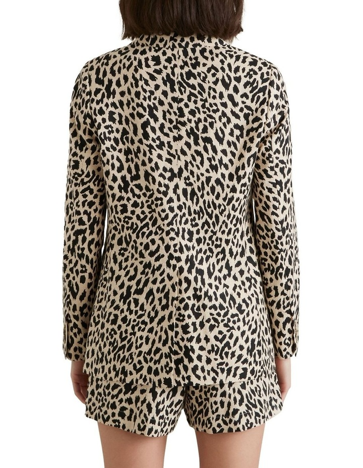 Animal Print Blazer image 3