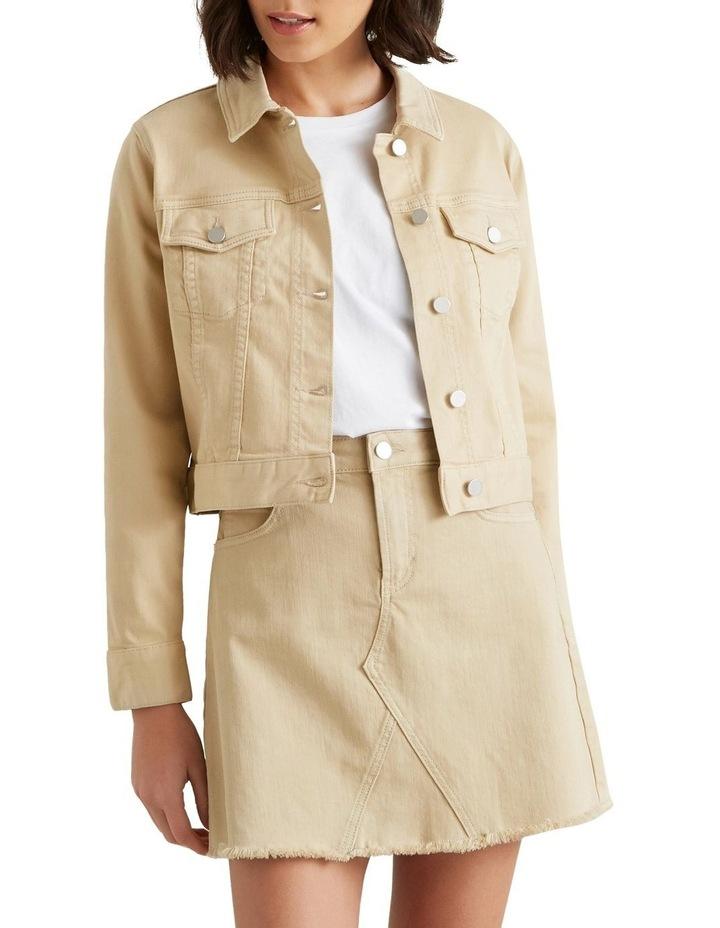 Cropped Denim Jacket image 3
