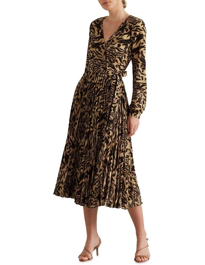 Animal Wrap Dress image 1