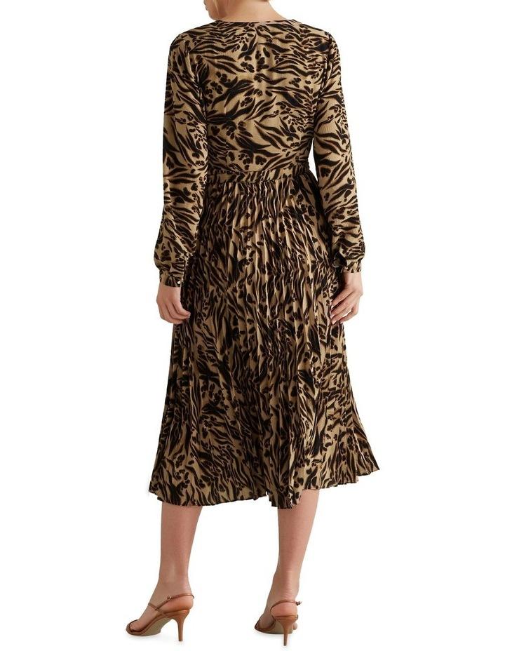 Animal Wrap Dress image 2