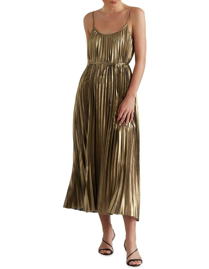 Pleated Lame Dress image 4