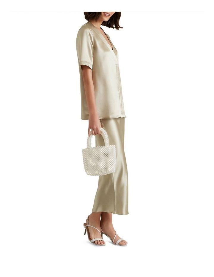 Satin Midi Skirt image 2