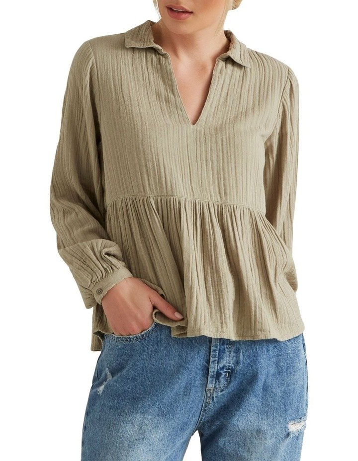 Textured Flowy Blouse image 1