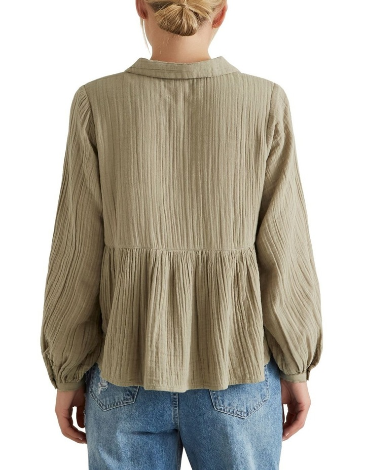 Textured Flowy Blouse image 2