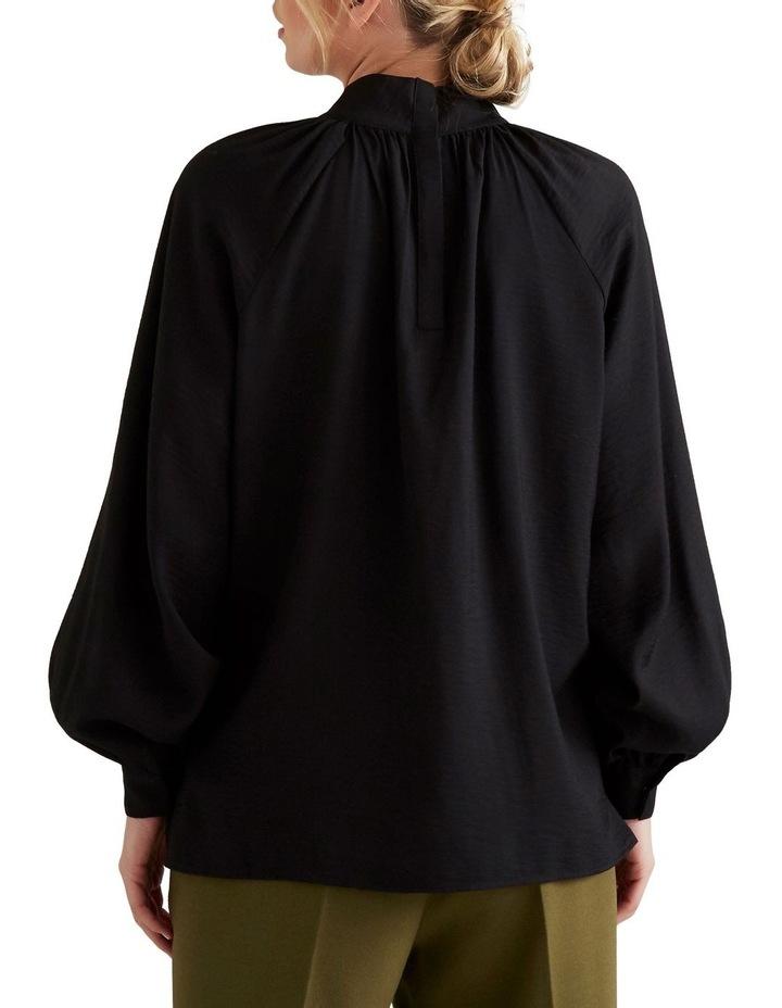 High Neck Blouson Shirt image 3
