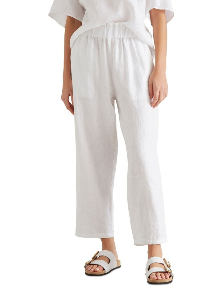 Linen Relaxed Pant image 3