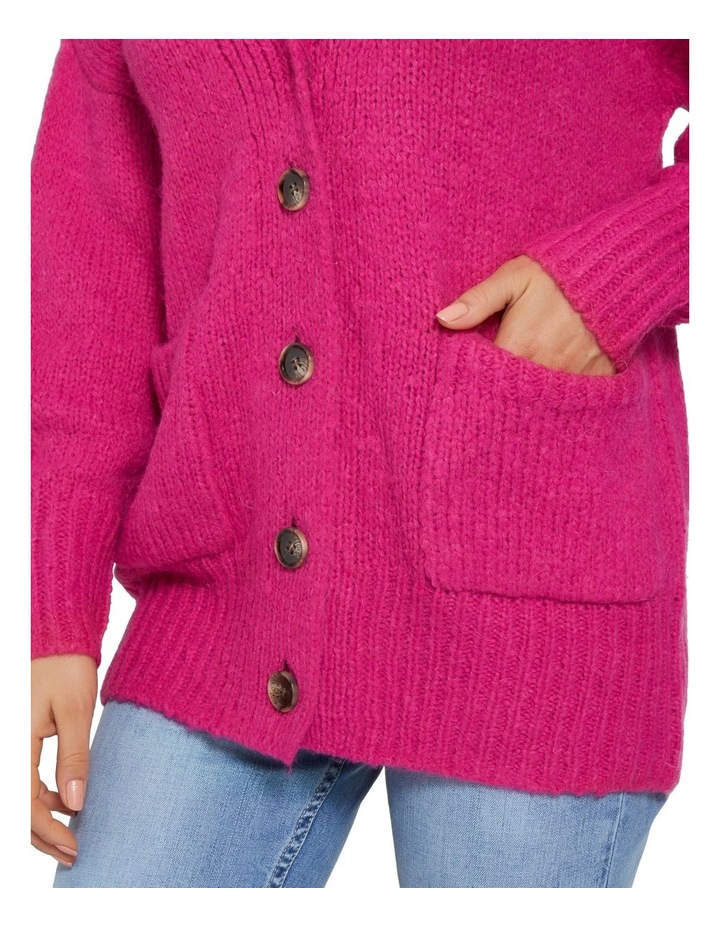 Cosy Button Down Cardigan image 4