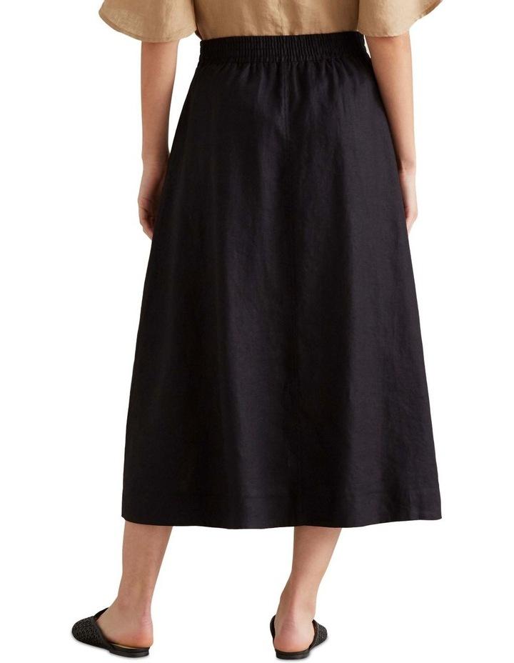 Linen Flowing Skirt image 2