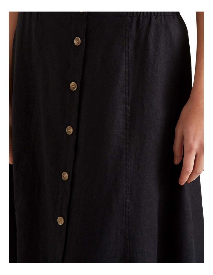 Linen Flowing Skirt image 5