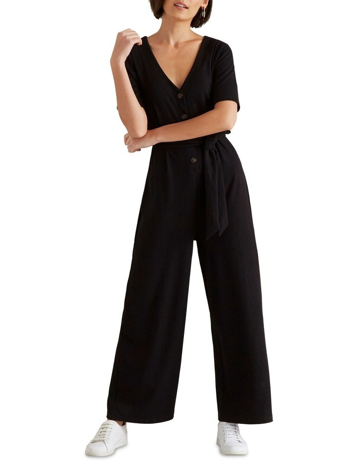 Ribbed Jersey Jumpsuit image 1