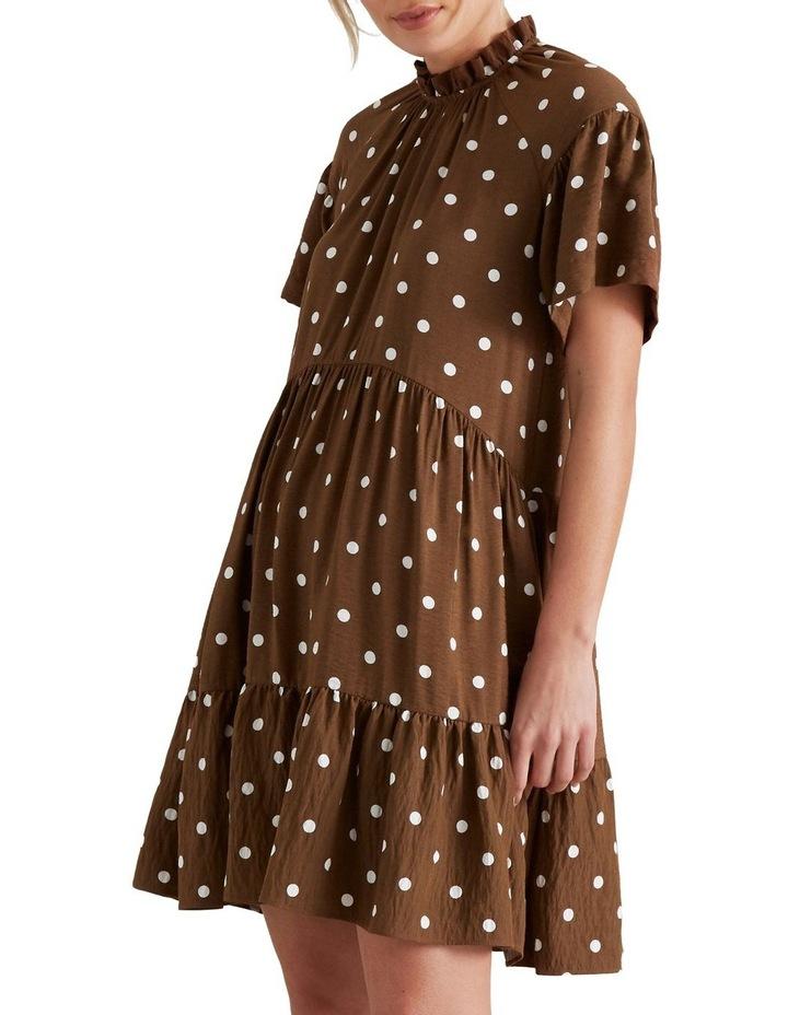 High Neck Spotty Dress image 1