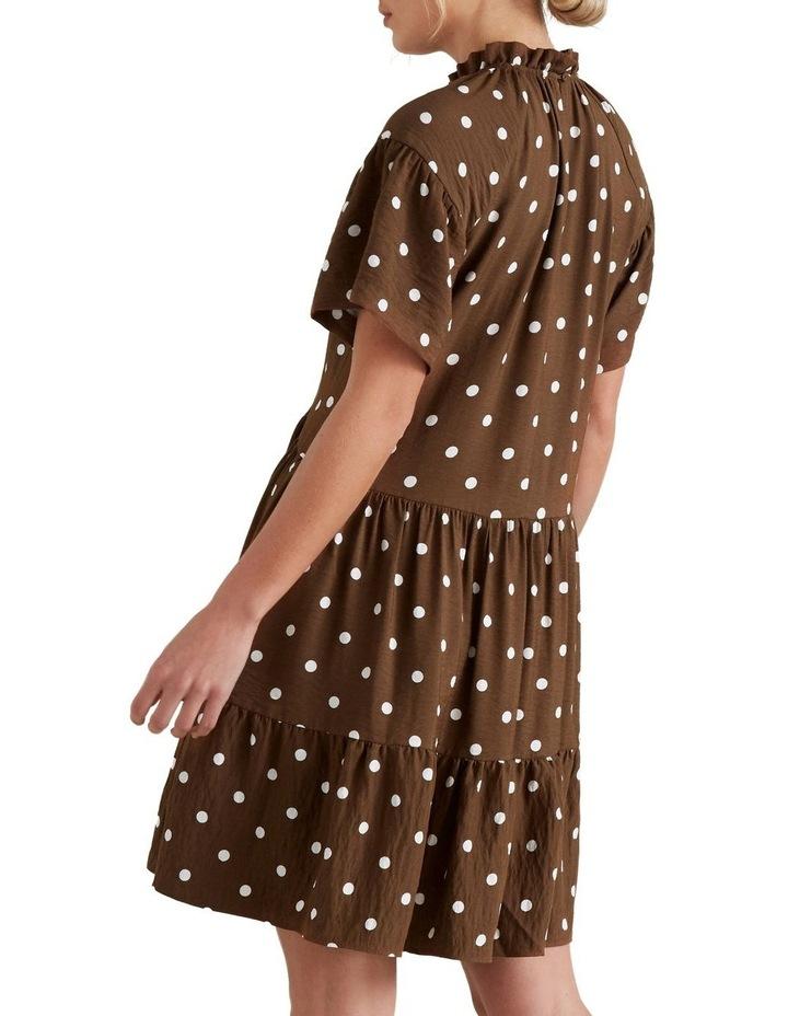 High Neck Spotty Dress image 3