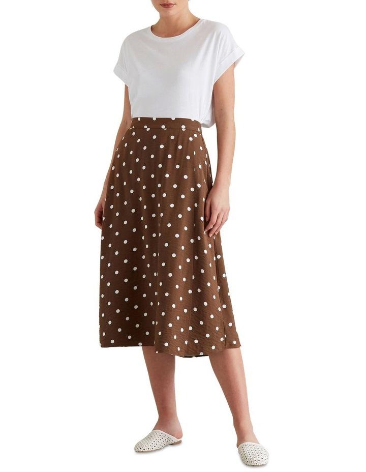 Wrap Spotty Skirt image 1
