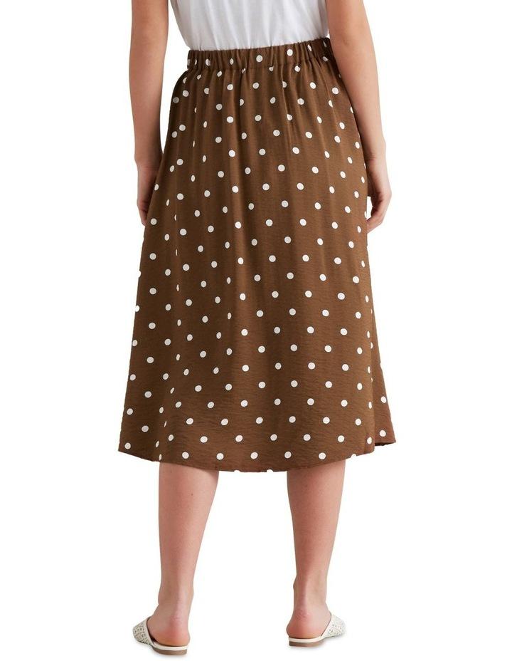 Wrap Spotty Skirt image 2