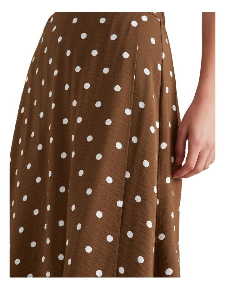 Wrap Spotty Skirt image 3